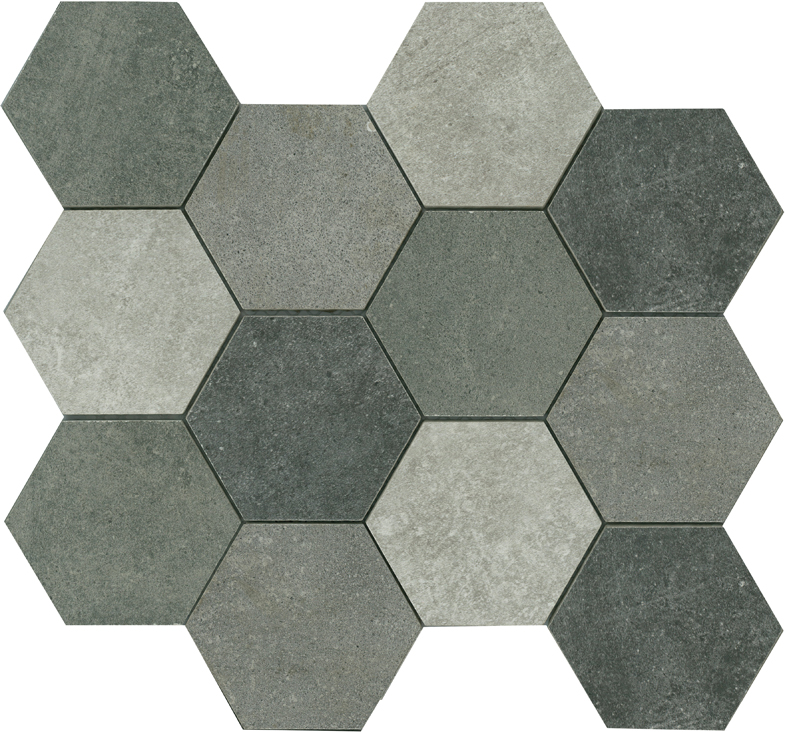 COLONEL HEXAGON MOSAIC MIX 86X86 Image