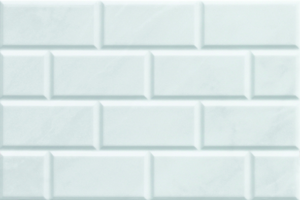 ENGLISH GARDEN GLOSS WHITE MARBLE BRICK 300X450 Image