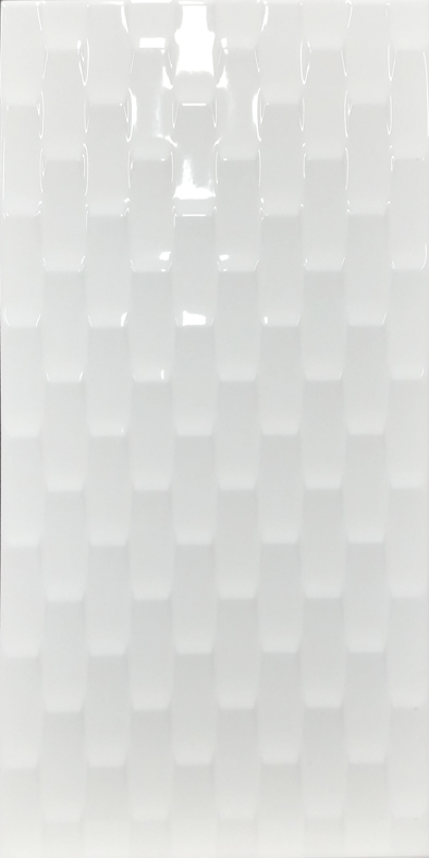 WEAVER GLOSS WHITE DECOR 200X400 Image