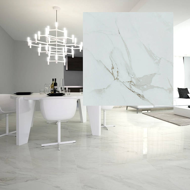 CALLACATTA POLISHED PORCELAIN 600X600 OR 600X300 Image