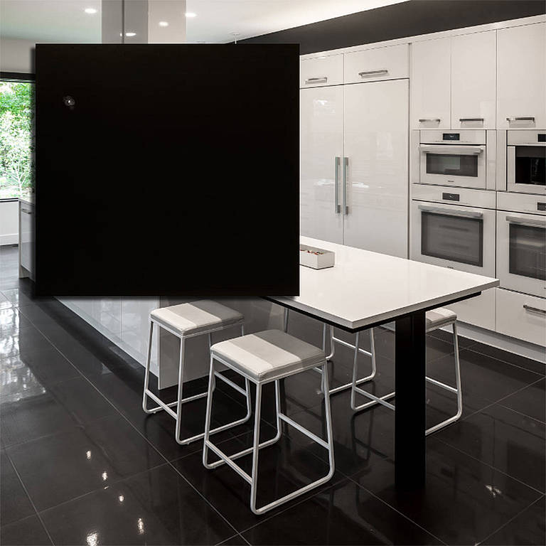 SUPER BLACK POLISHED PORCELAIN 600X600 OR 300X600 Image