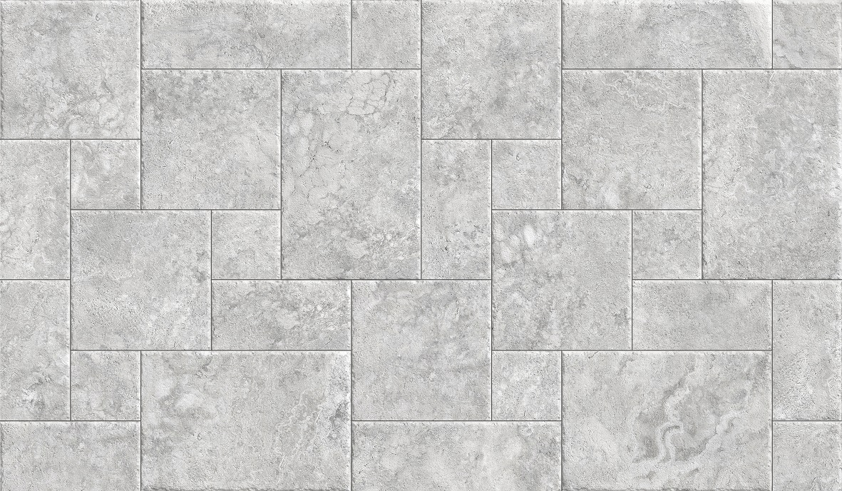 FRENCH PATERN TRAVERTINE SILVER MATT/EXTERNAL Image